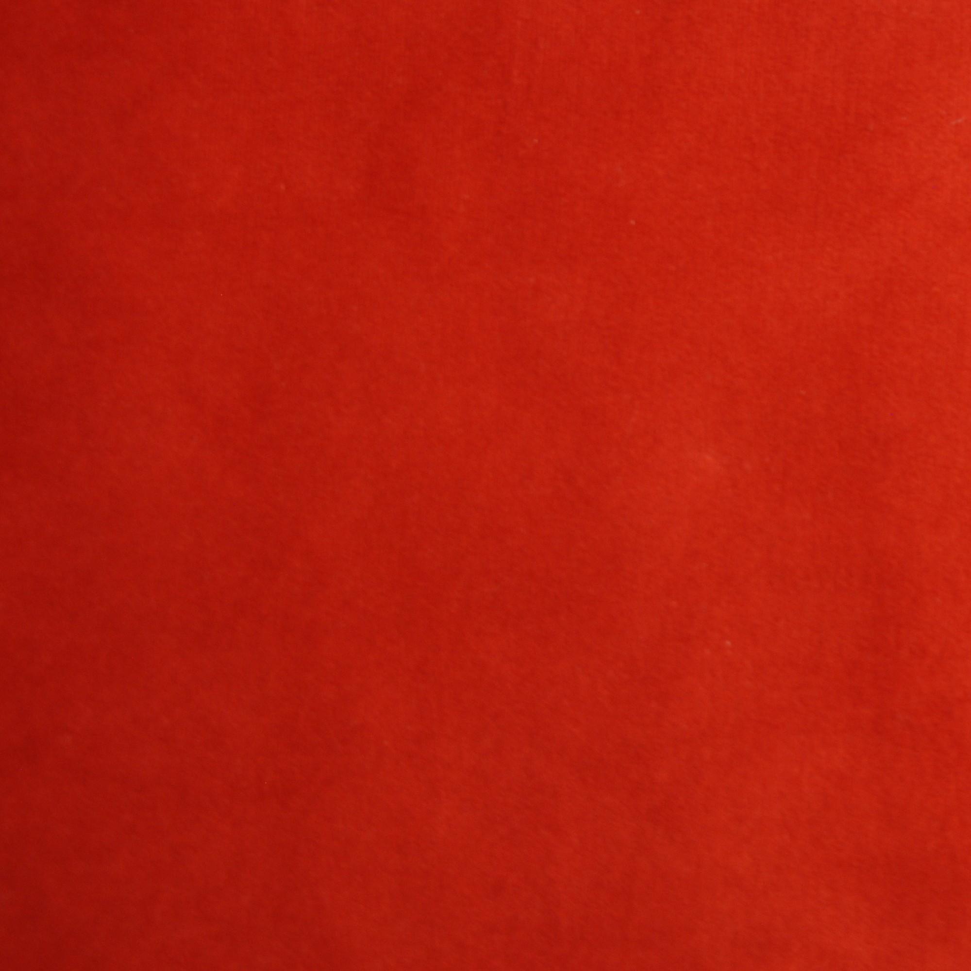 Veludo Liso Vermelho